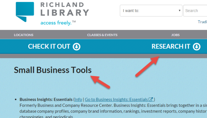 Free Research Tools